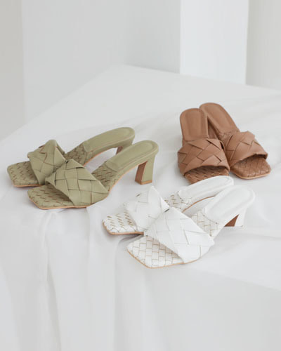 SH1086/Botes Square Mule Slipper(230~250)