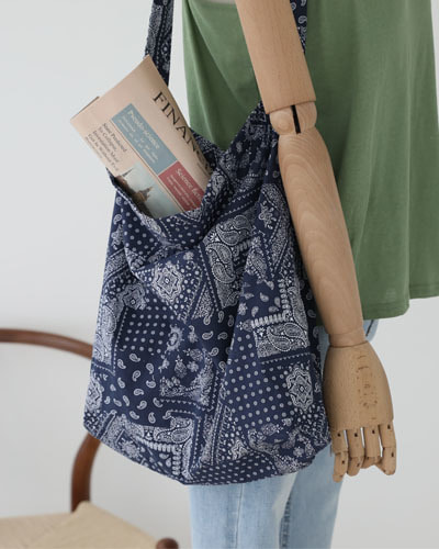 BAG3025/Paisley Shoulder Eco Bag_6c