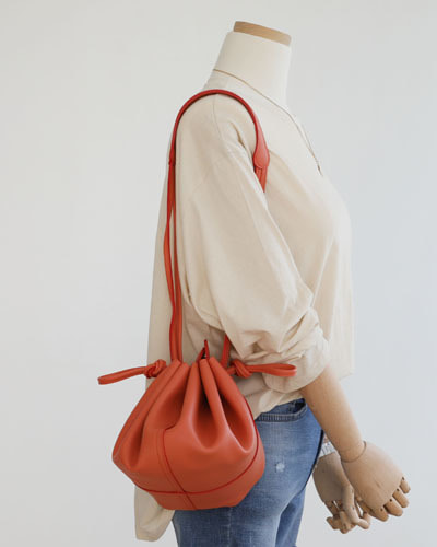 BAG3053/Mini String Bucket Bag_3c