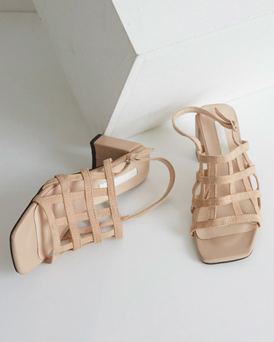 SH1092/Suede Lattice Hill Sandals_2c