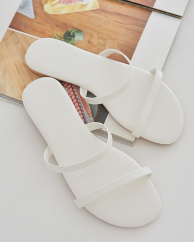 SH1093/Double Line Slippers_3c
