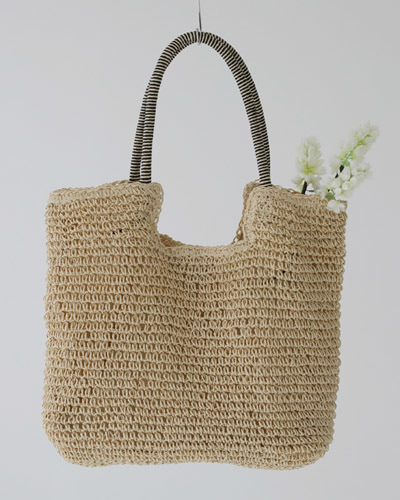 BAG3061/Square Rattan Shoulder Bag_2c